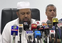 Mufthi M.I.M. Rizwe - At Press Conference Held On 22.04.2019 Regarding Easter Sunday Attacks