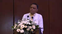 Professor Daya Amarasekara at the Launch of the Sinhala Exegesis of the Holy Quran
