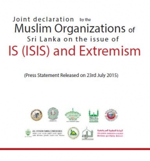 Joint Declaration Against ISIS and Extremism