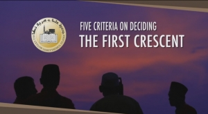 Five criteria on deciding the first crescent (English)