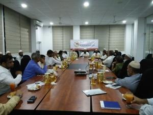 முஸ்லிம் பாராளுமன்ற உறுப்பினர்களுடன் சந்திப்பு