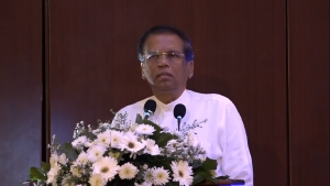 President Maithripala Sirisena at the Launch of the Sinhala Exegesis of the Holy Quran