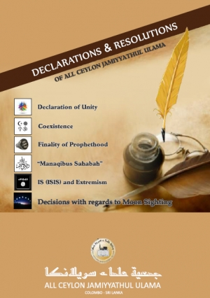 Declarations and Resolutions